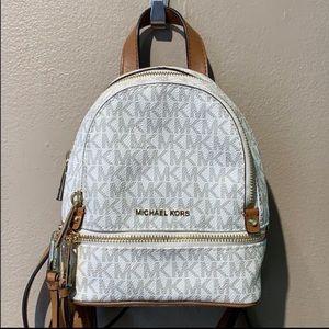 Authentic Michael Kors mini backpack